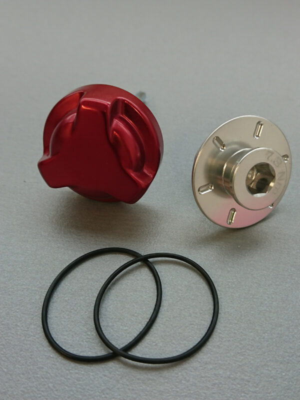 Lefty rebound knob assembly