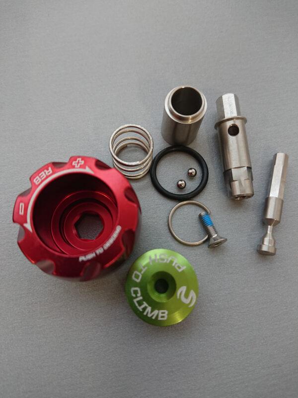 Lefty 2,0 Pbr knob red/grn